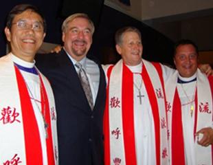Bishop Silas Ng, Pastor Rick Warren, Bishop Todd Hunter, Bishop Doc Loomis