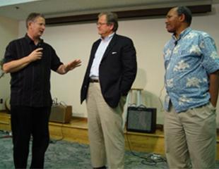 Bishop Todd Hunter, Bishop Chuck Murphy, and Archbishop Emmanuel Kolini